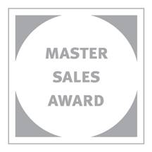 Master Sales Achievement Award